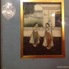 Kunst - Miniatura orientalista sobre marfil - 62632154