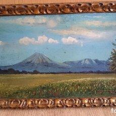 Arte: BONITO PAISAJE PINTADO AL OLEO FIRMADO Y DATADO EN 1945. Lote 62755668