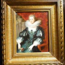 Arte: RETRATO DE ANA DE AUSTRIA (1601-66). ESCUELA FLAMENCA.. Lote 62966184