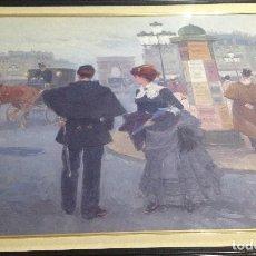 Arte: PASEANDO POR PARIS. Lote 63092580