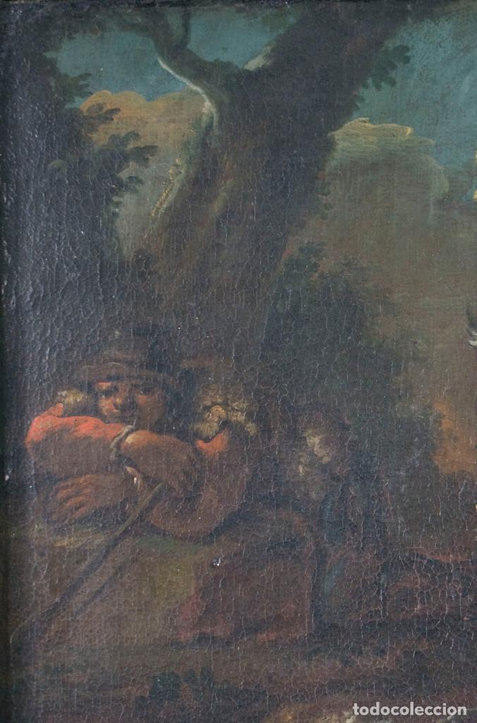 "Arte: Atribuido a ""Rosa de Tivoli"" Roos, Philipp Peter. paisaje con ganado - Foto 5 - 63278432"