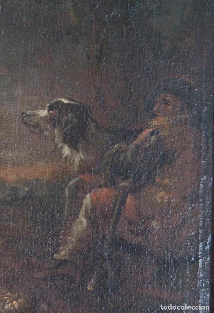 "Arte: Atribuido a ""Rosa de Tivoli"" Roos, Philipp Peter. paisaje con ganado - Foto 6 - 63278564"