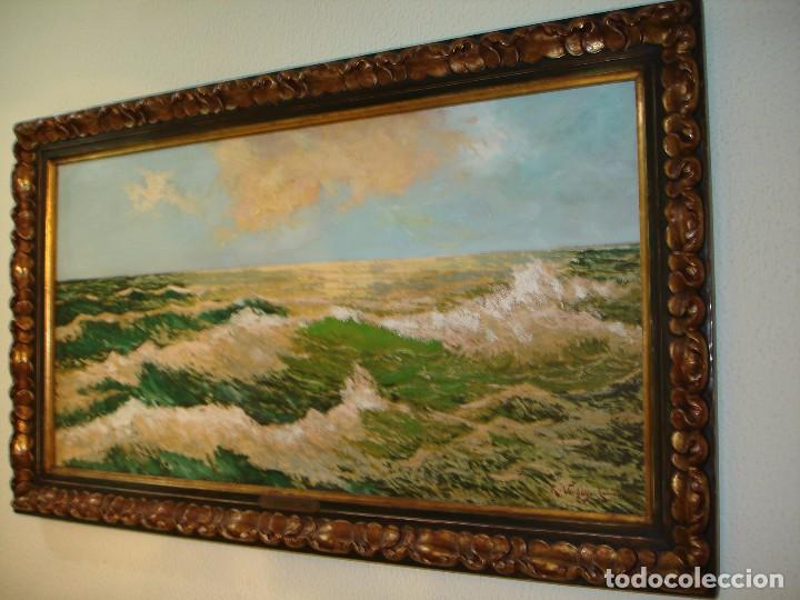MARINA-RICARDO VERDUGO LANDI (Arte - Pintura - Pintura al Óleo Moderna siglo XIX)