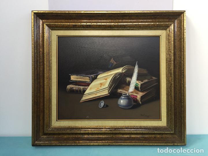 FIRMADO DALMAU , BONITO OLEO SOBRE LIENZO ENMARCADO (Arte - Pintura - Pintura al Óleo Contemporánea )