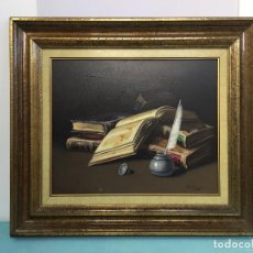 Arte: FIRMADO DALMAU , BONITO OLEO SOBRE LIENZO ENMARCADO. Lote 63638131