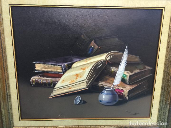 Arte: FIRMADO DALMAU , BONITO OLEO SOBRE LIENZO ENMARCADO - Foto 3 - 63638131