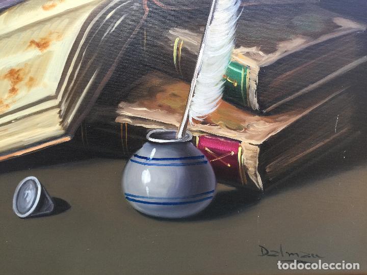 Arte: FIRMADO DALMAU , BONITO OLEO SOBRE LIENZO ENMARCADO - Foto 4 - 63638131