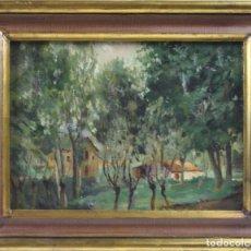 Arte: O1-005 - ANÓNIMO - ESCUELA CATALANA - OLEO/LIENZO ADHERIDO A TABLA - PRINC. S.XX. Lote 44234156