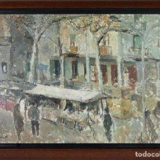 Arte: B3-002 OLEO SOBRE TELA FIRMADO J. (JAUME) QUERALT, TARRAGONA 1949. Lote 45311190