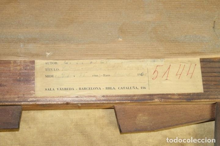 Arte: G-571. JOVENES EN EL JARDÍN. OLEO/LIENZO. ATRIBUIDO JOHN THOMAS SERRES. XVIII - Foto 16 - 45296548