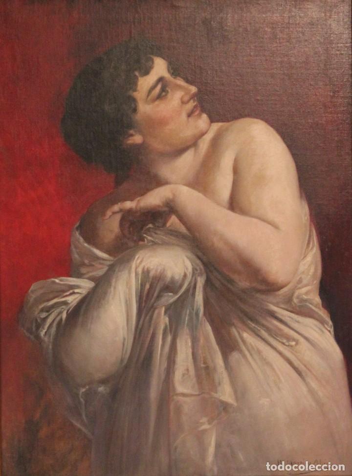 Arte: MARTI ALSINA, RAMON (1826-1894) - OLEO S/LIENZO 78 X 58 CM. - Foto 2 - 64160719