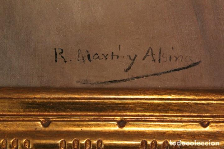Arte: MARTI ALSINA, RAMON (1826-1894) - OLEO S/LIENZO 78 X 58 CM. - Foto 3 - 64160719