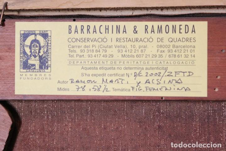 Arte: MARTI ALSINA, RAMON (1826-1894) - OLEO S/LIENZO 78 X 58 CM. - Foto 5 - 64160719