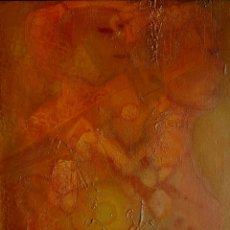 Arte: PEPE BORNOY (MÁLAGA 1942), PINTOR MALAGUEÑO, INTERESANTE PINTURA ORIGINAL FIRMADA.. Lote 134161305