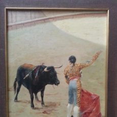 Arte: CUADRO SEVILLANO,TORERO; FIRMADO MANUEL OSUNA. Lote 64379015