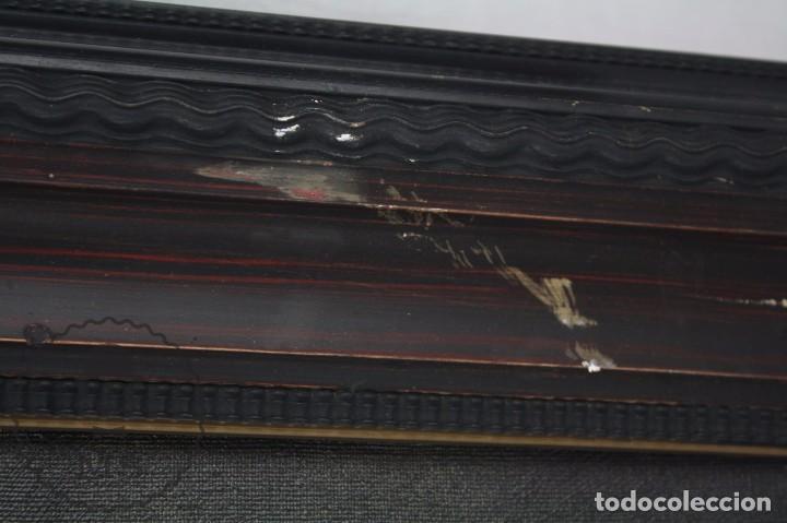 Arte: Pintura al Óleo Sobre Lienzo de Julio García Gutiérrez - Peces Naranjas / Dorados - 67 x 78 cm - Foto 6 - 65051671