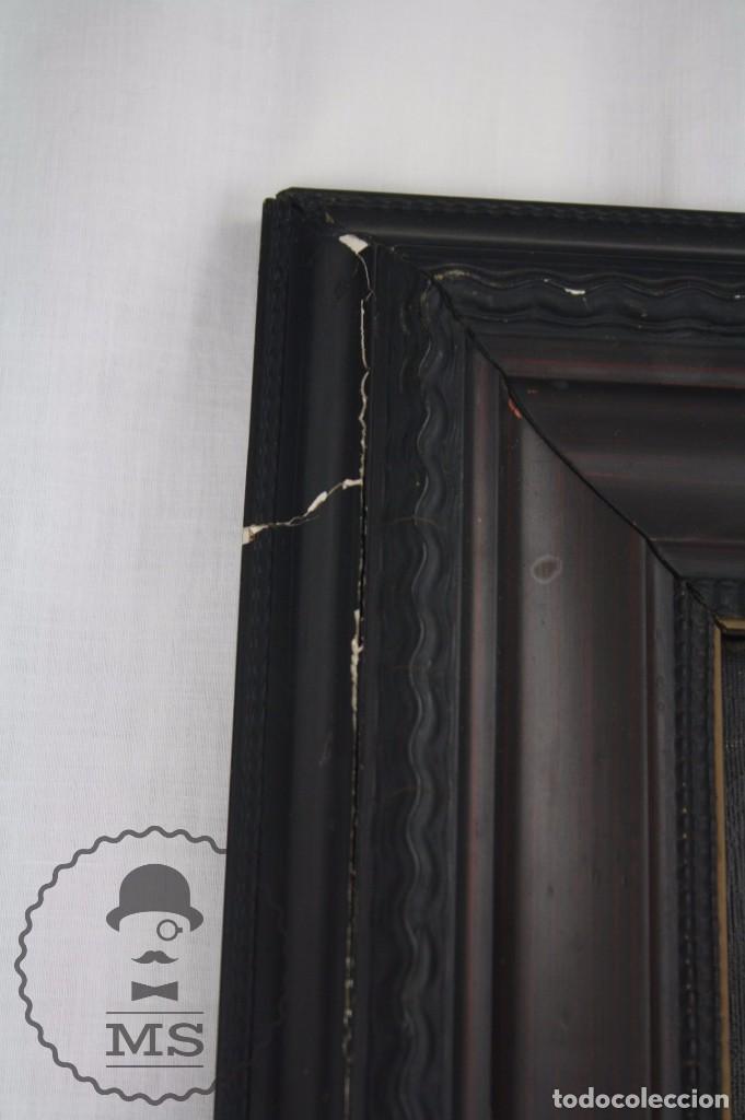 Arte: Pintura al Óleo Sobre Lienzo de Julio García Gutiérrez - Peces Naranjas / Dorados - 67 x 78 cm - Foto 8 - 65051671