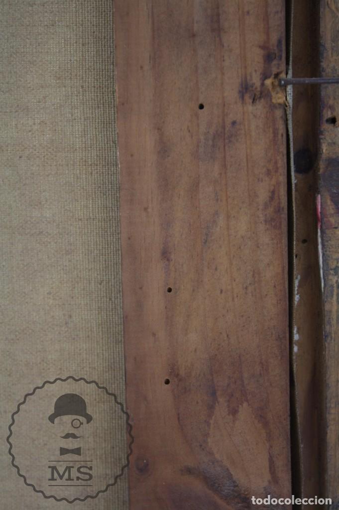 Arte: Pintura al Óleo Sobre Lienzo de Julio García Gutiérrez - Peces Naranjas / Dorados - 67 x 78 cm - Foto 13 - 65051671