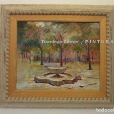 Arte: 'SURTIDOR ÁRABE' ÓLEO / LIENZO. DOMINGO CORREA. 46 X 38 CM. SIN MARCO.. Lote 67796945
