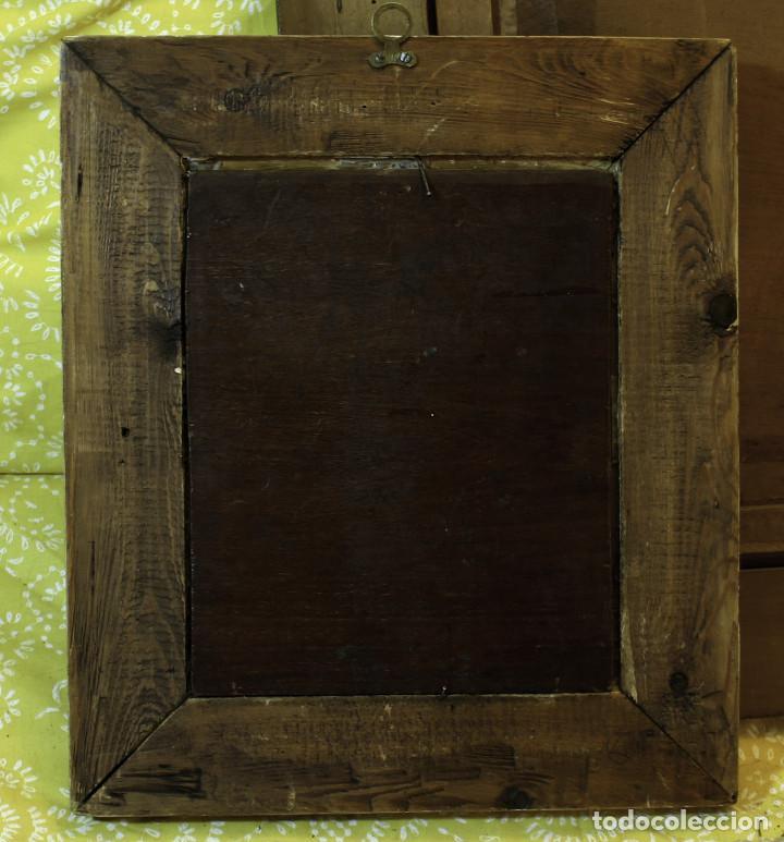 Arte: Escena cortesana. S.XVIII. Óleo sobre tabla de caoba - Foto 3 - 65803654