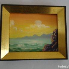 Arte: CUADRO PEQUEÑO PINTADO AL OLEO Nº 4. --- T. Lote 66128082
