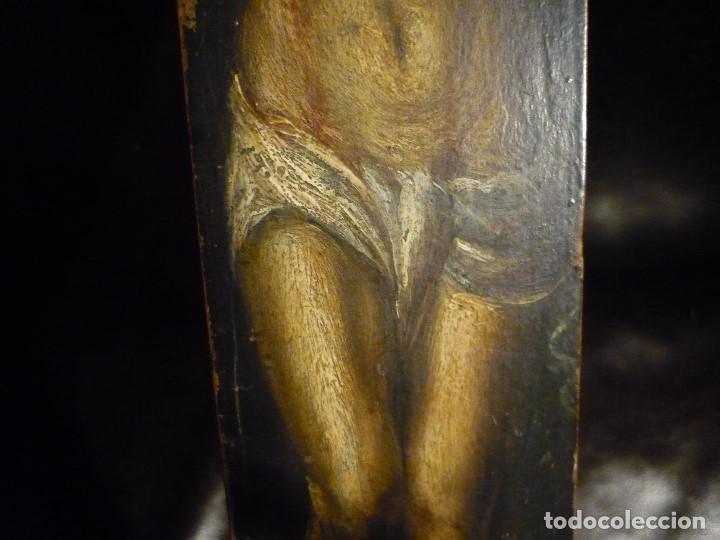 Arte: CRISTO EN LA CRUZ. ATRIBUIDO A ANTONIO DE PEREDA (1611-78) - Foto 4 - 81176330