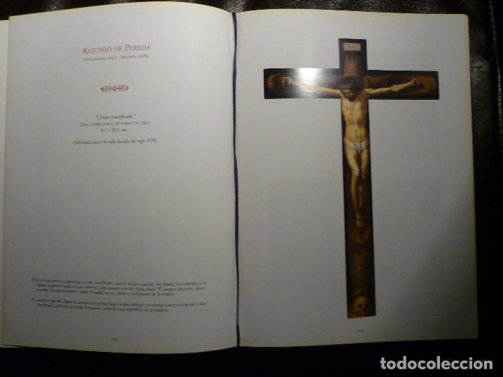 Arte: CRISTO EN LA CRUZ. ATRIBUIDO A ANTONIO DE PEREDA (1611-78) - Foto 7 - 81176330
