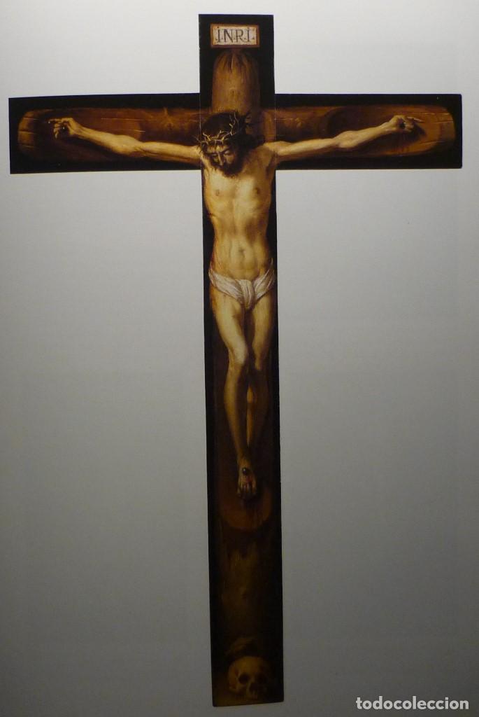 Arte: CRISTO EN LA CRUZ. ATRIBUIDO A ANTONIO DE PEREDA (1611-78) - Foto 8 - 81176330