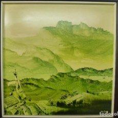 Arte: LUGRIS VADILLO ( VIGO 1942) CEMENTERIO MARINO.. Lote 66313406