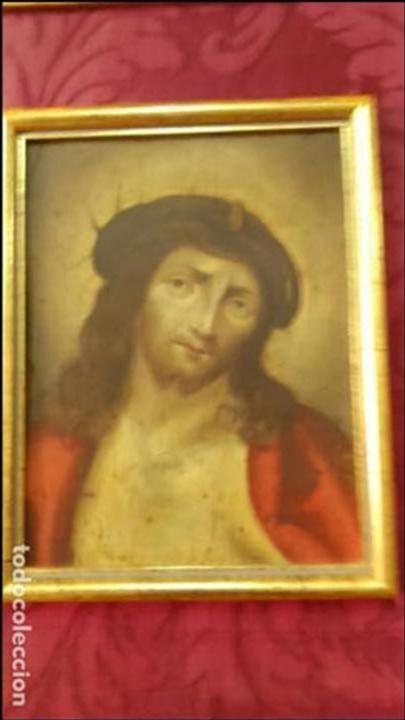 Arte: CRISTO óleo s/cobre Siglo XVII - Foto 2 - 66318866