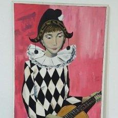 Arte: OLEO SOBRE LIENZO FIRMADO Y SELLADO EN 1969. Lote 66503938