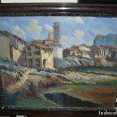 Arte - OLEO SOBRE TELA - FIRMADO RIBERA - PAISAJE - 66758170