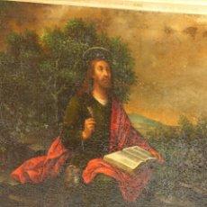 Arte: PÉREZ DE HOLGUÍN, MELCHOR, CÍRCULO DE (VIRREINATO PERÚ, 1660–1732):SAN JUAN EVANGELISTA EN PATMOS. Lote 67050619