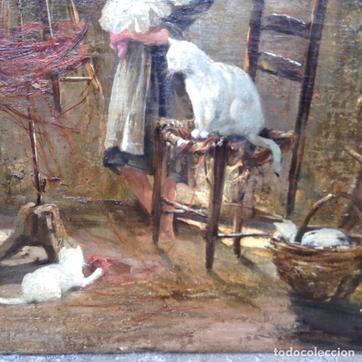 Arte: Vincenzo Irolli (1860-1942) Pintor Italiano - Óleo sobre tela - Foto 4 - 67207545