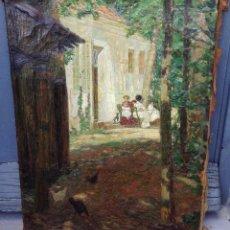 Arte: EDUARDO MARTINEZ VAZQUEZ (1886-1971) PINTOR ESPAÑOL - ÓLEO SOBRE TELA. Lote 67208077