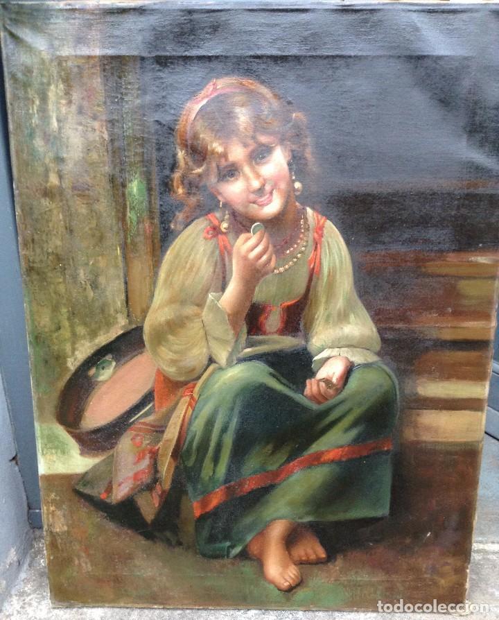FEDERICO MAZZOTTA (XX) PINTOR ITALIANO - ÓLEO SOBRE TELA (Arte - Pintura - Pintura al Óleo Moderna sin fecha definida)
