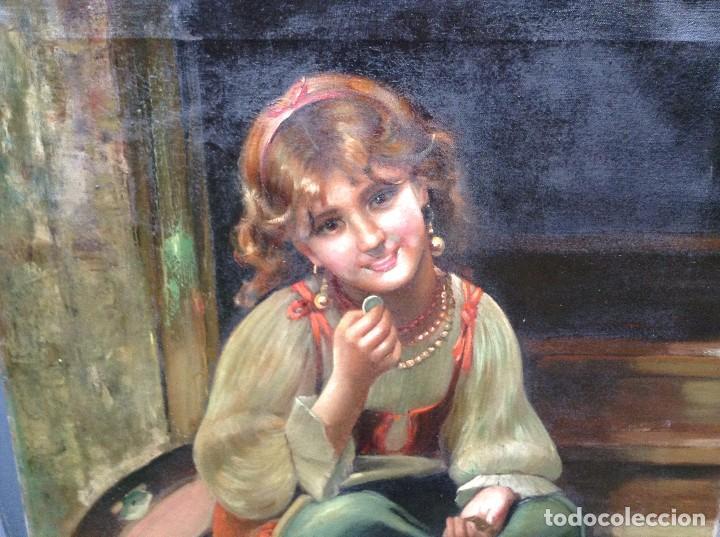 Arte: Federico Mazzotta (XX) Pintor Italiano - Óleo sobre tela - Foto 2 - 67208109