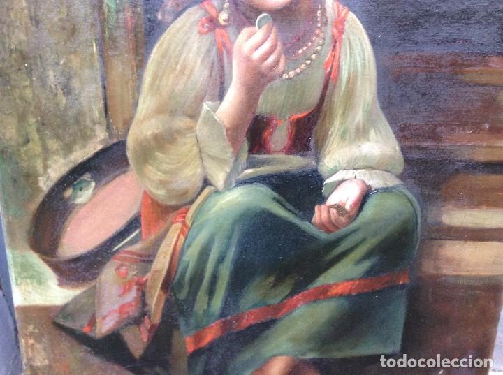 Arte: Federico Mazzotta (XX) Pintor Italiano - Óleo sobre tela - Foto 3 - 67208109