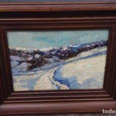 Arte: METELLO MERLO (1886-1964) PINTOR ITALIANO - ÓLEO SOBRE TABLA. Lote 67208729