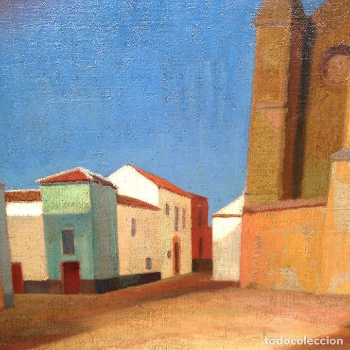 Arte: Francesco Trombadori (1886-1961) Pintor Italiano - Óleo sobre tela - Foto 2 - 67209865