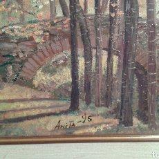 Arte - pintura al óleo del campus Universidad de navarra - 67241927