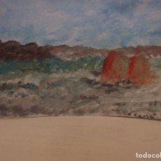 Arte: FIRMADO C. CARRÁ. (1881-1966)? OLEO/CARTÓN 24 X 30 CM. Lote 67289989