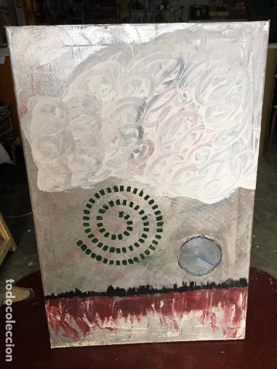 OLEO SOBRE LIENZO 40 X 60 CMS. ABSTRACTO, SIN FIRMA (Arte - Pintura - Pintura al Óleo Contemporánea )