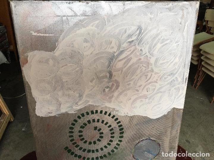 Arte: OLEO SOBRE LIENZO 40 X 60 CMS. ABSTRACTO, SIN FIRMA - Foto 3 - 67302025
