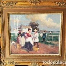 Arte: DIA DE CAMPO - J.PUIGSEGUR. Lote 67341393