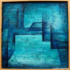 Arte: CESAR PEREZ HERRERO MADRID TITULO ESPACIO TECNICA MIXTA 2003 O/ TABLE MEDIDAS 52X 53 CM. Lote 67433397