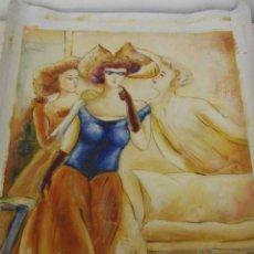 Arte: OLEO SOBRE TELA. PINTURA AL OLEO SOBRE TELA.. Lote 67444453