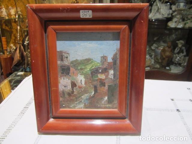 óleo sobre tablex - paisaje - firmado sierra 93 - Comprar Pintura al ...