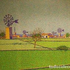 Arte: MOLINOS PLA DE SANT JORDI -- MARTÍN CIFRE -- 90 X 70 CM.. Lote 67878569