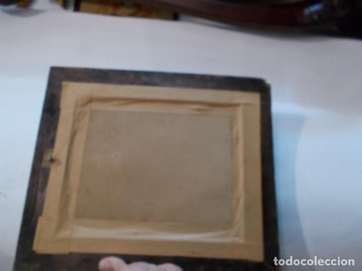 Arte: pintura antigua y marco antiguo - Foto 5 - 68240201